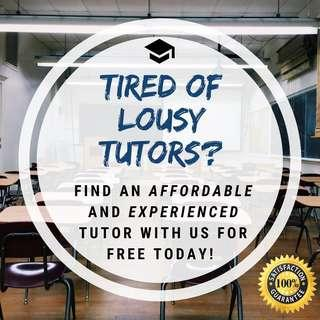 Primary/Secondary/JC Home Tuition