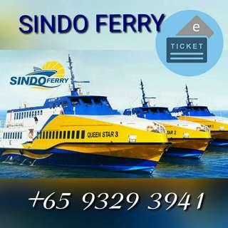 (ALL IN) BATAM FERRY TICKET SINDO FERRY