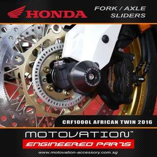 Motivation Fork and Axle Sliders for Honda Africa Twin CRF1000l (All years)