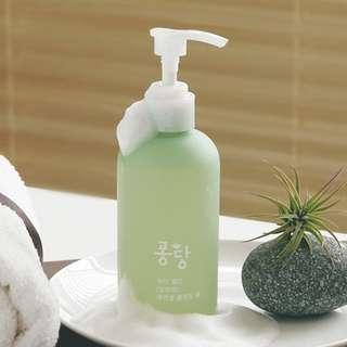 ❤#BLESSING ❤FREE GIVEAWAY!! ❤FULL SIZED ❤ KOREA☘ALOE~THE FIRST WATER CLEANSING~4X MORE MOISTURE DURING CLEANSING!! REMOVES EVEN THE HEAVIEST EYE MAKEUP!!☘Pongdang WaterJelly Aloe Essential Cleansing Foam ( 240ml)