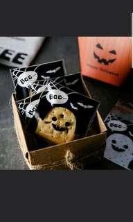 🎃 7x7cm Halloween Cookie Bag / Goodies Bag