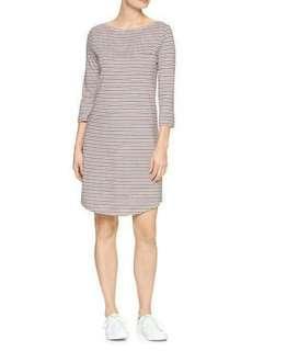 GAP Grey Stripes Dress
