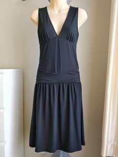 Kookai Black Dress - Size 2 (Size 10 equivalent)