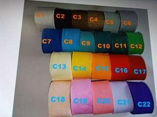 Ulta thin crepe paper streamer stresmers for decoration decorate of birthday party ballroom