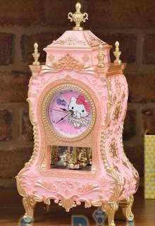 🚚 【Toreba】日本正版景品 Hello kitty 復古時鐘