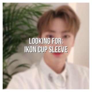 looking for | ikon cup sleeve