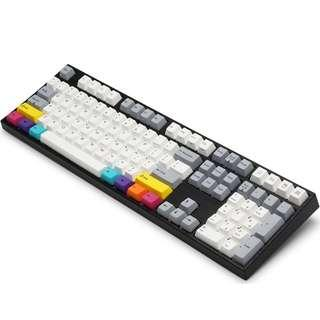 Varmilo Vintage Days+CYMK VA108M Full Size Keyboard