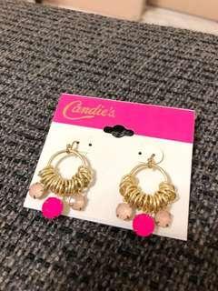 Candie's 粉色系造型耳環