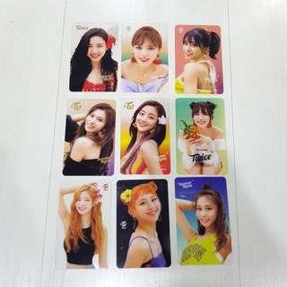 Twice DTNA Transparent Photocards Ver.1