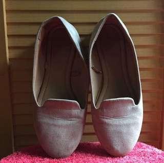 Rubi Grey Flatshoes