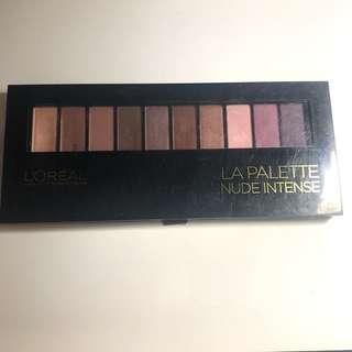 Loreal eyeshadow palette