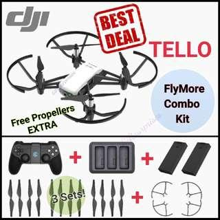 DJI Tello Remote Combo (Free Extra set Propellers)/Local DJI Warranty! (Ready Stock)