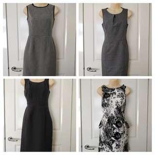 Work Dress Bundle (4 items) - Size 8 & 10