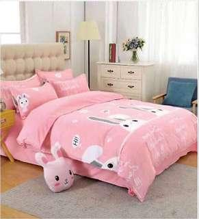 Bed Sheet 5 in 1 wiv comforter