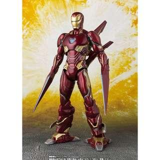 Pre-Order for Tamashii Exclusive - S.H.Figuarts (Avengers: Infinity War) - Iron Man Mark 50 Nano-Weapon Set