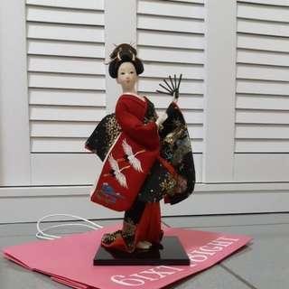🚚 日本藝妓公仔模型娃娃擺飾玩偶