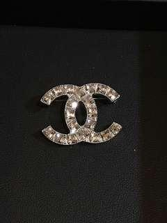 Authentic Chanel Brooch - crystal