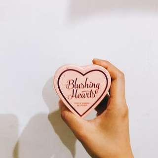 🚚 Blushing hearts 三色腮紅 打亮