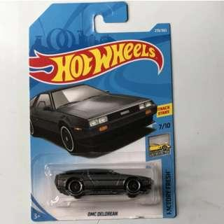 Hotwheels 2018 Factory Fresh DMC Delorean Rare