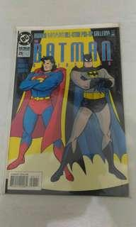 DC Batman Superman comic