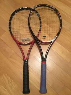 Prince Tennis Rackets and Tennis Backpack