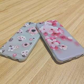 PROMOTION‼️ Hipster Floral flower iPhone 6 - 10 Soft Case