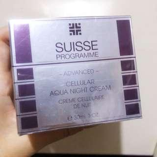 (包郵) Suisse 活氧細胞水凝晚霜 (升級版)