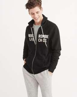 [INSTOCK] Abercrombie & Fitch Appliqué Graphic Hoodie