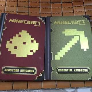 Book - minecraft mojang essential handbook $15 for 1, $20 for 2
