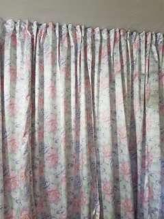 Curtains-floor length,wide det