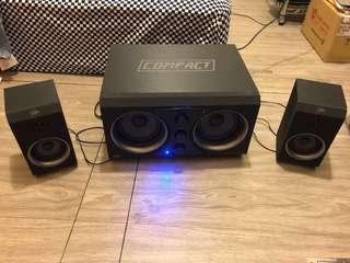 🚚 2.1藍牙音響Bluetooth speaker/2.1電腦音箱Computer speaker