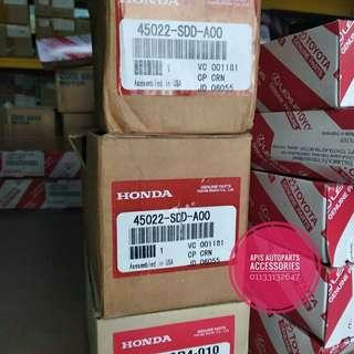 GENUINE OEM HONDA FRONT BRAKE PAD SET