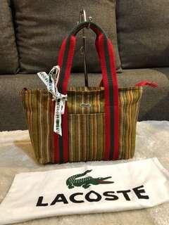 Authentic Lacoste Limited Edition Tote Bag With Card & Dustbag