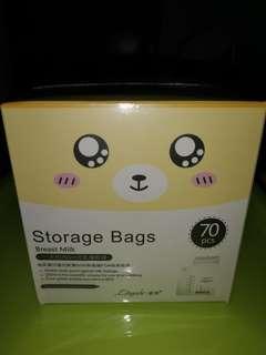 Breastmilk storage bag 70pc per box