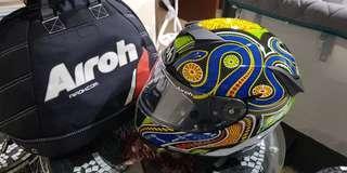 Airoh full face & Ixon gloves