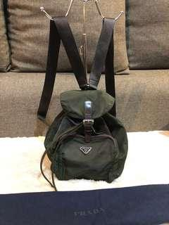 Authentic Prada Petite Backpack With Dustbag