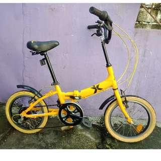 LESPO ALLOY FOLDING BIKE (FREE DELIVERY AND NEGOTIABLE!)