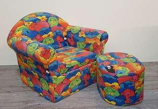 Young child's single sofa