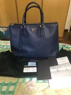 Authentic Saffiano Lux Bluette