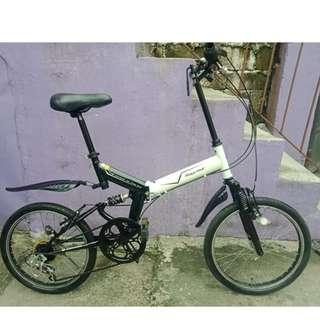 RAYCHELL DUAL SUSPENSION FOLDING BIKE (FREE DELIVERY AND NEGOTIABLE!)