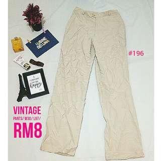Vintage Pants #196