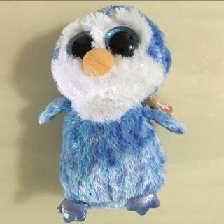 BN 🐩TY🐩  The Beanie Boo's Collection Ice Cube Penguin Plush Toy