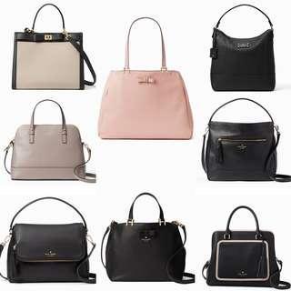 Time Sales! Authentic Kate Spade Leather Sling Bags Handbag