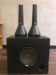 Altec Lansing 2.1 subwoofer speaker
