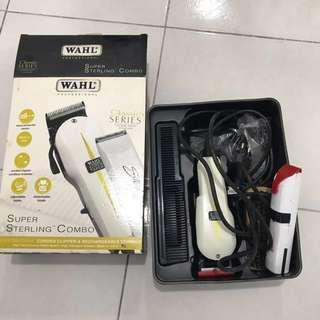 WAHL PRO CLASSIC SERIES COMBO (super taper & sterling 2 plus)