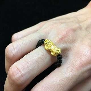999 Pixiu beads ring