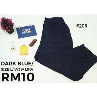 Dark Blue Vintage Pants#205