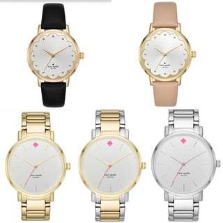 Time Sales! Authentic Kate Spade Leather & Bracelet Watch