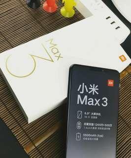 1 WEEK SPECIAL BLACK XIAOMI MI MAX 3