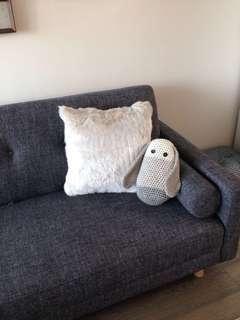 BNWT faux fur cushion / pillow